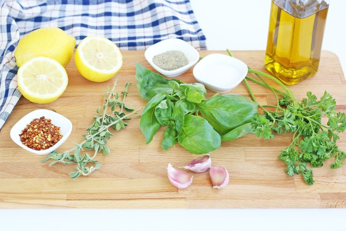 ingredients for best grilled chicken marinade