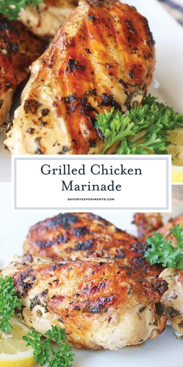 grilled chicken marinade for pinterest