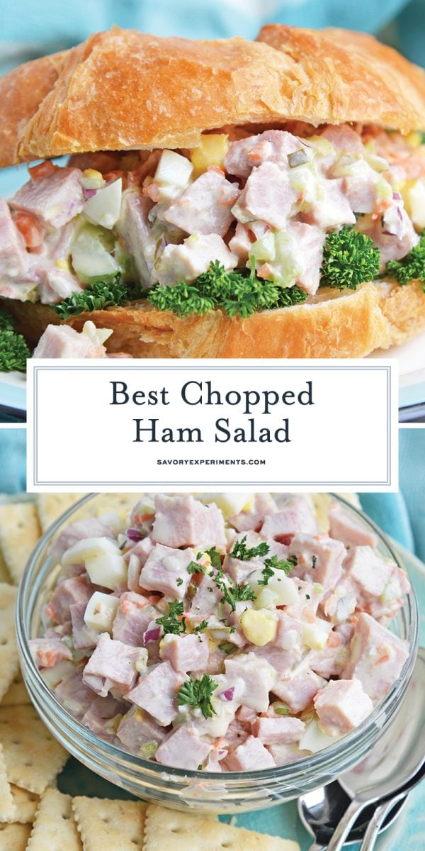 chopped ham salad for pinterest