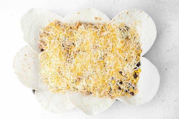 how to make a sheet pan quesadilla