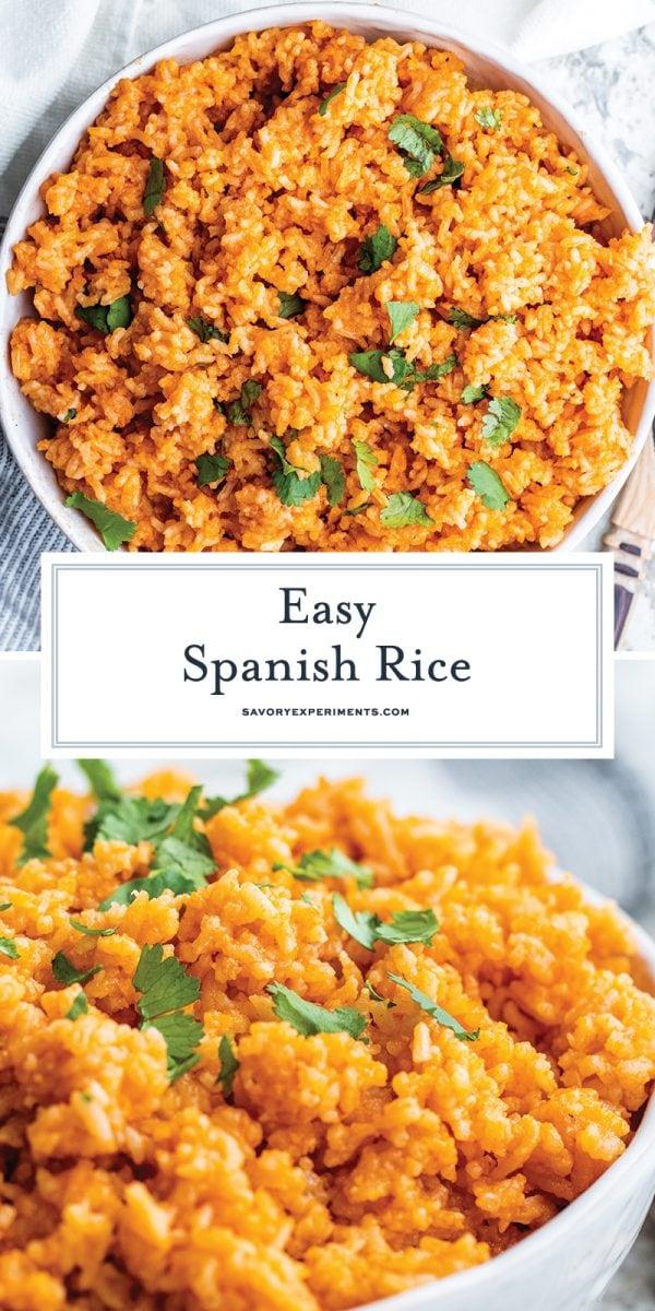 easy spanish rice for pinterest