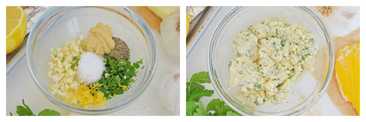how to make garlic butter sauce for salmon