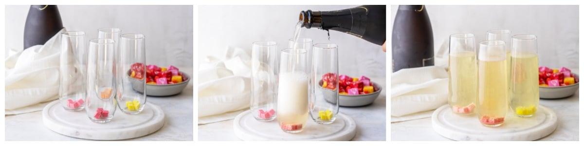 how to make starburst sparkling cocktails