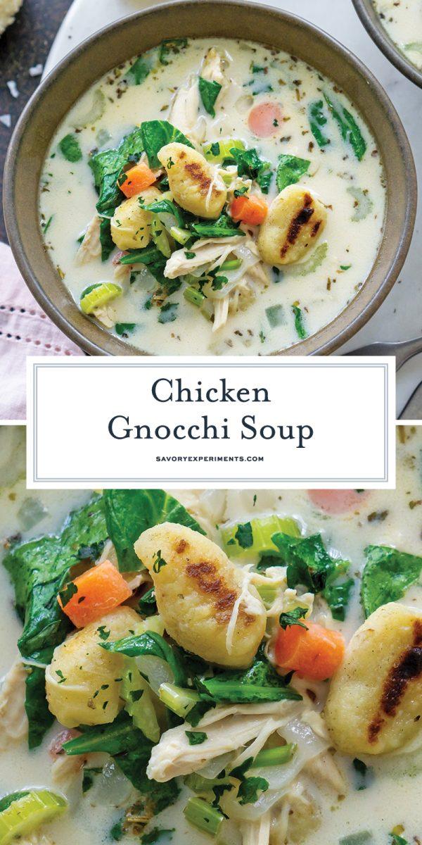 chicken gnocchi soup for pinterest
