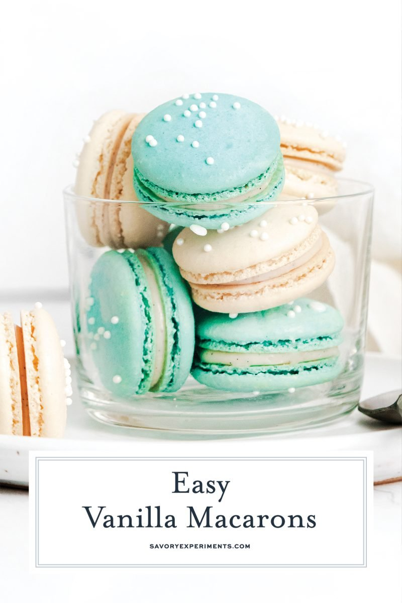 step by step making macarons