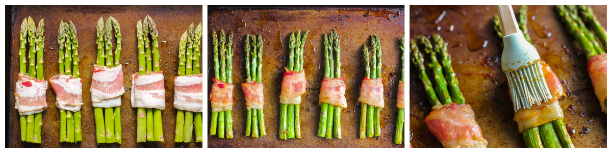 how to make bacon wrapped asparagus (step-by-step)