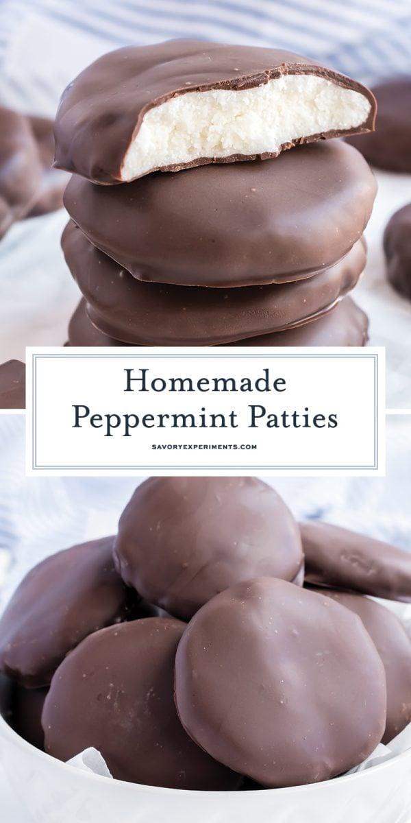 homemade peppermint patty for pinterest