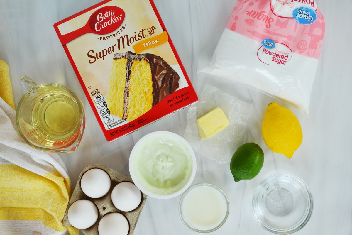 ingredients for shirley temple cake