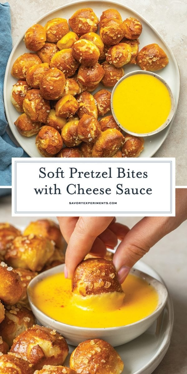 soft pretzel bites for pinterest