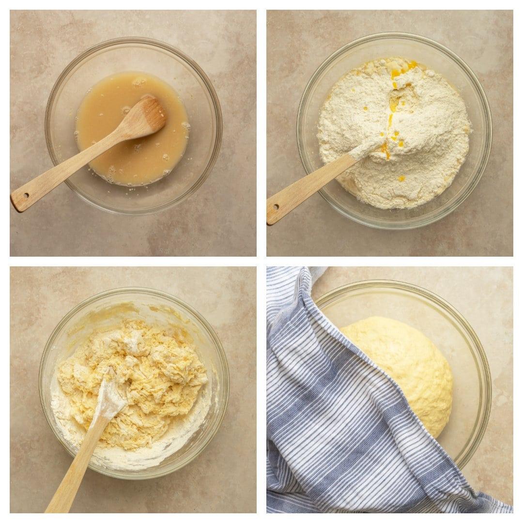 how to make soft pretzel dough