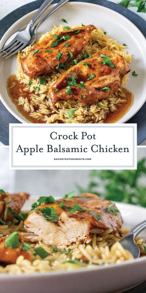 crock pot balsamic chicken recipe for pinterest