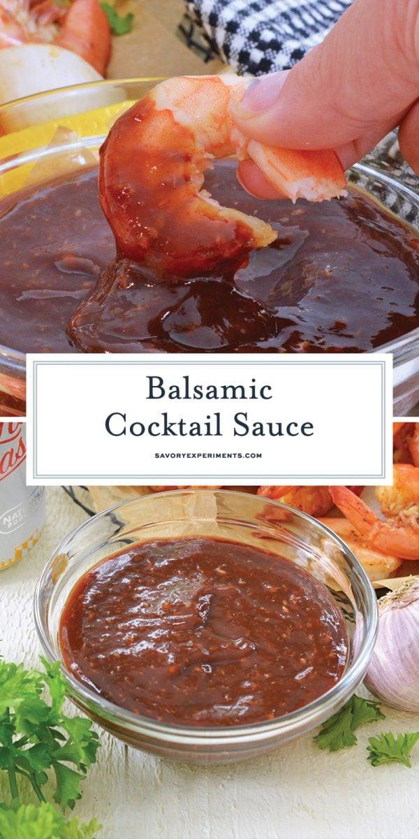 balsamic cocktail sauce recipe for pinterest