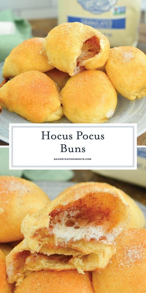 hocus pocus buns for pinterest