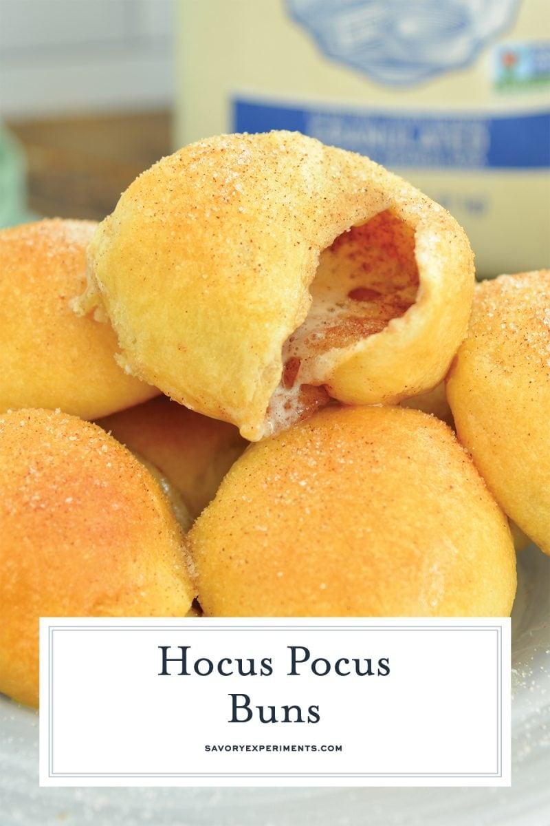 close up of hocus pocus roll
