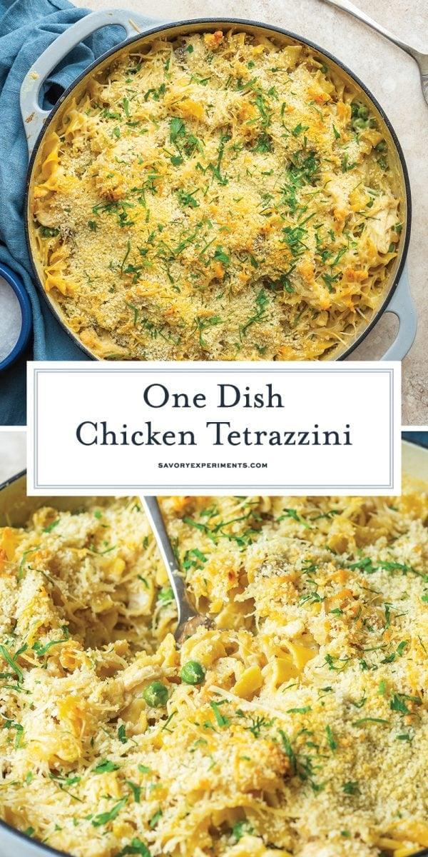 chicken tetrazzini for pinterest