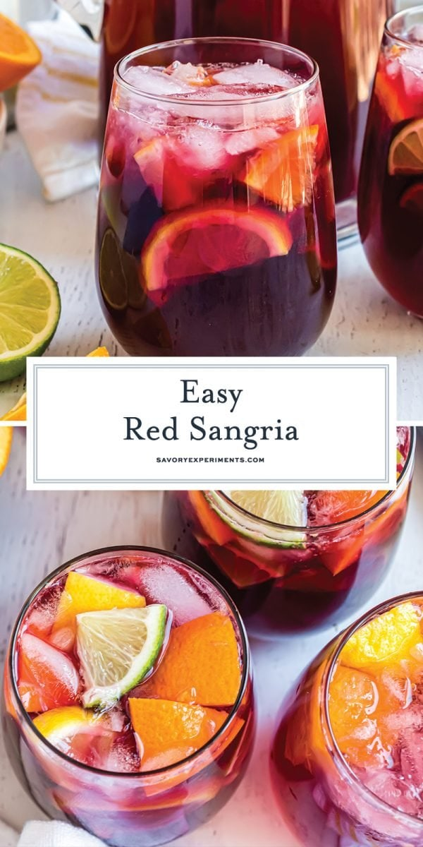 long pin for easy red sangria