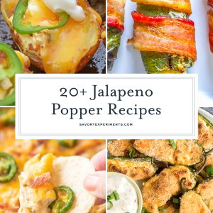 If you're craving something spicy & cheesy, or need an appetizer to bring to a party or event, these Jalapeno Popper Appetizers are perfect!