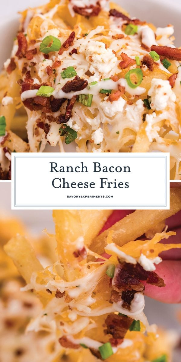 ranch bacon cheese fries for pinterest