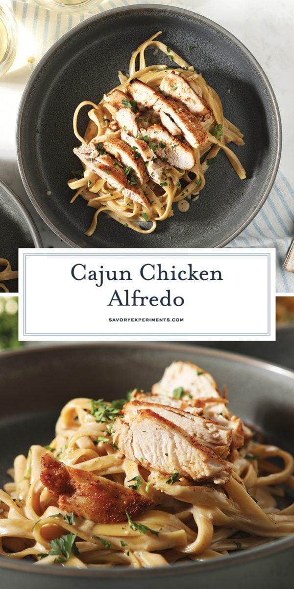 cajun chicken alfredo for pinterest