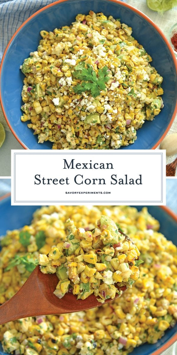 mexican street corn salad for pinterest