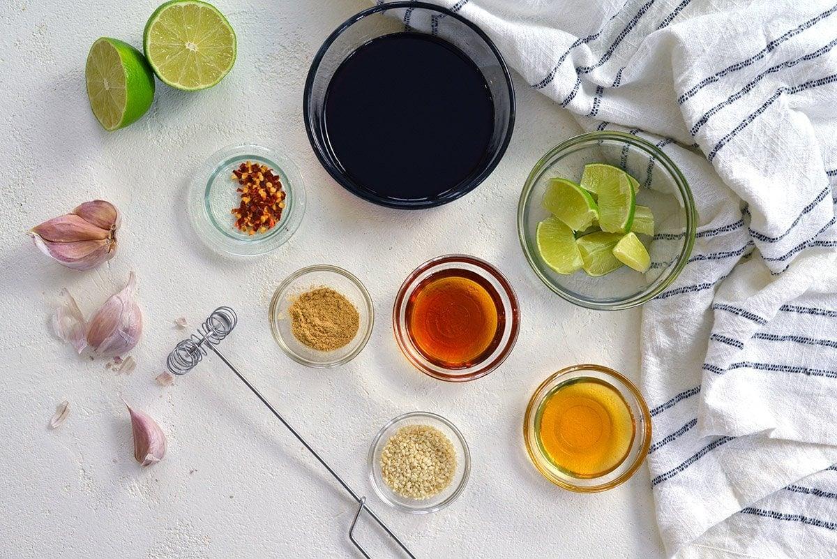 ingredients for stir fry sauce