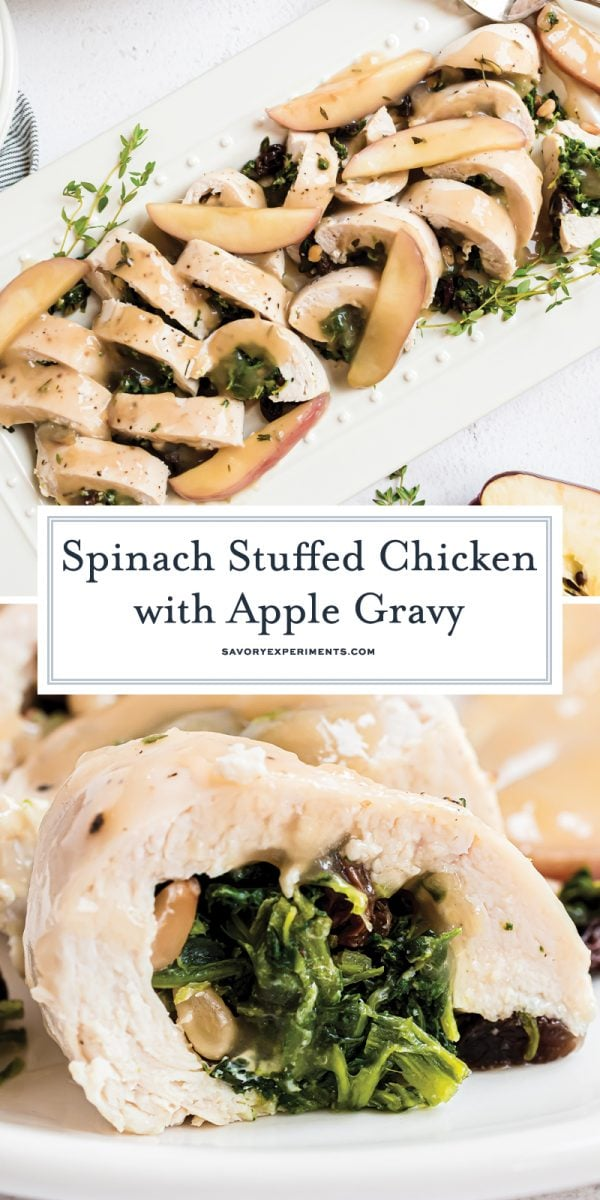 spinach stuffed chicken breasts for pinterest