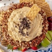 whipped peanut butter dip