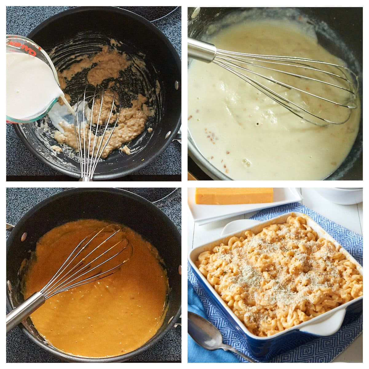 how to make a roux for mac and cheese