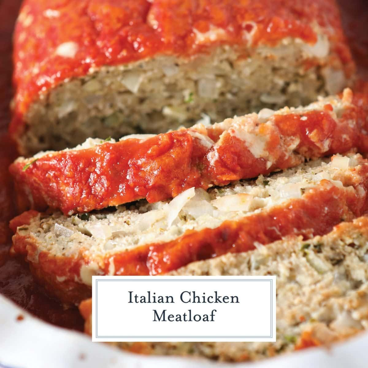 close up of sliced italian meatloaf