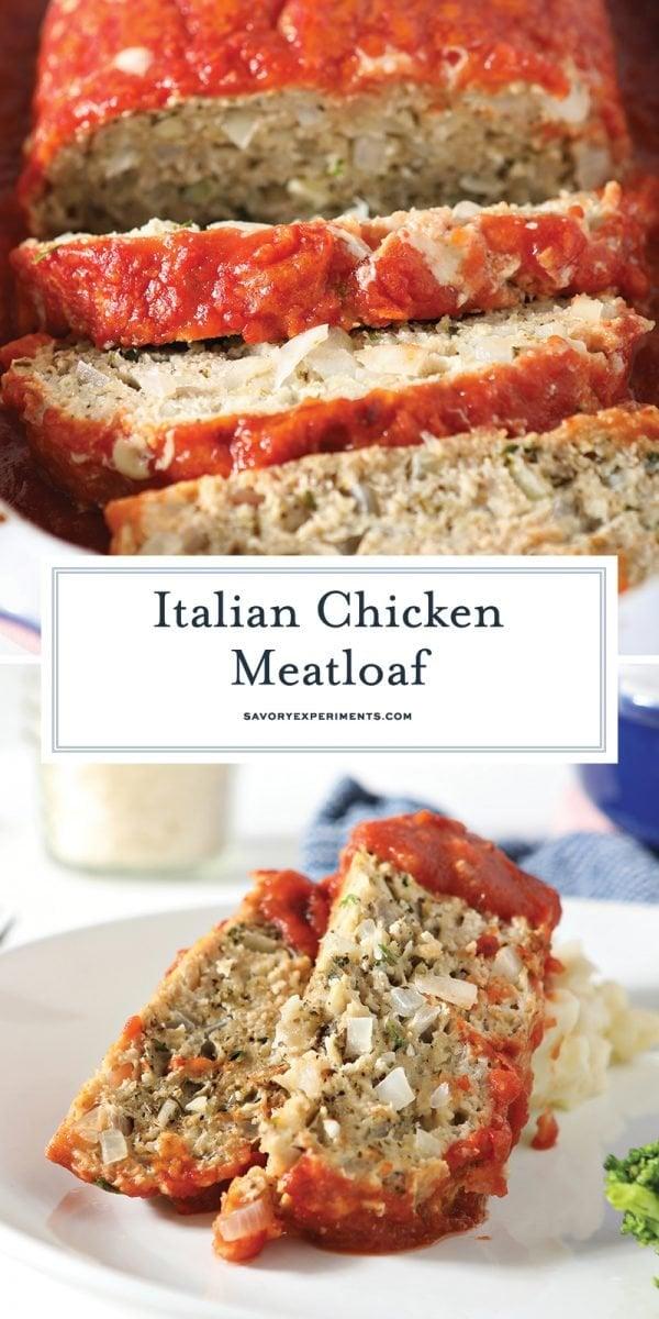 italian chicken meatloaf recipe for pinterest