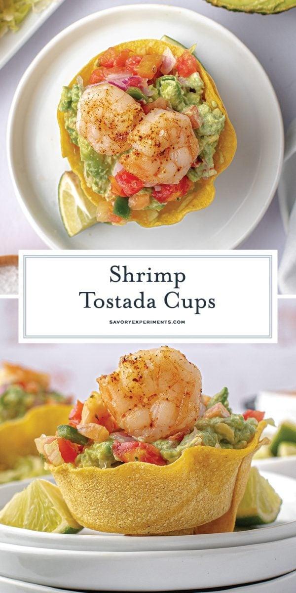 shrimp tostada cups for pinterest