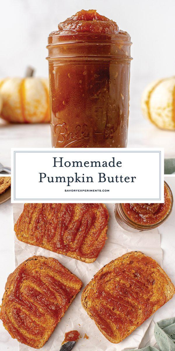 homemade pumpkin butter recipe for pinterest