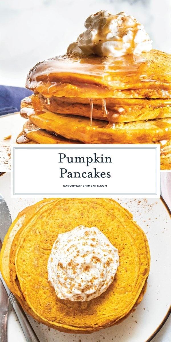 pumpkin pancake recipe for pinterest