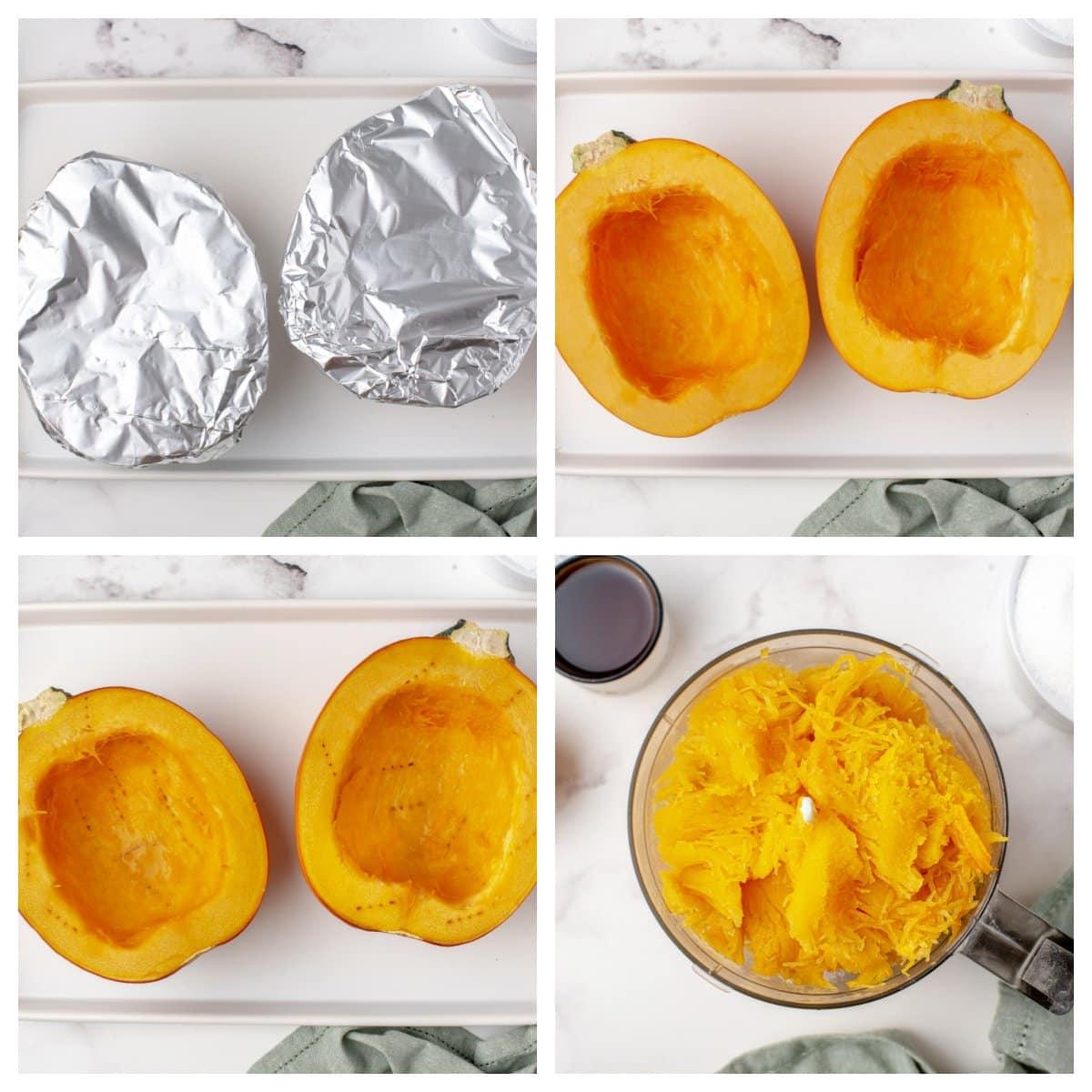 how to roast a pumpkin for puree
