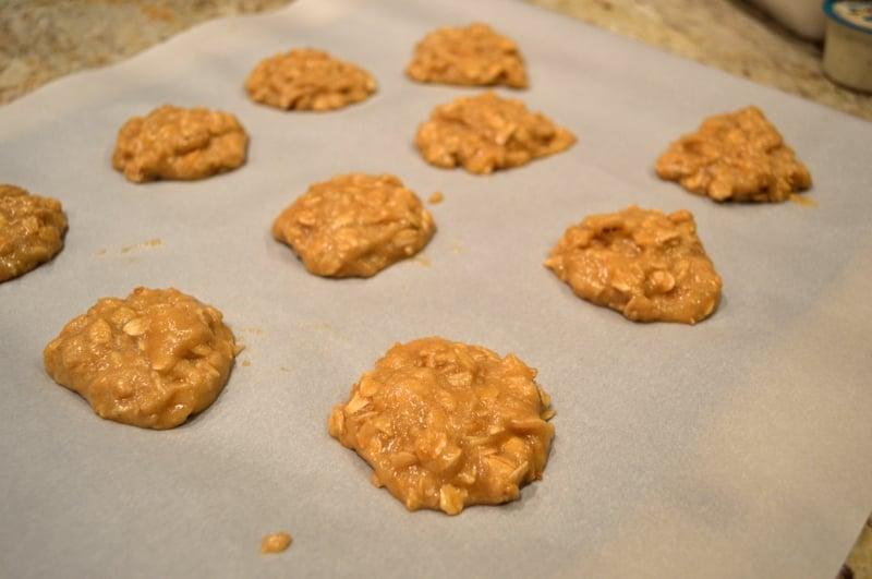 Maple Glazed Oatmeal Cookies