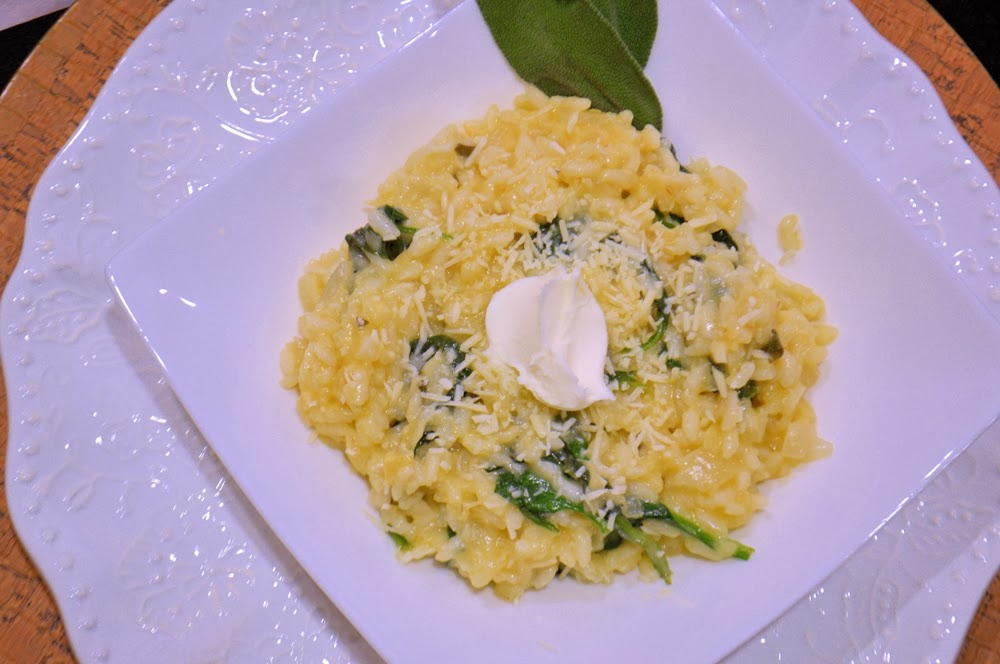 Parsnip Risotto with Mascarpone and Sage - Savory Experiments